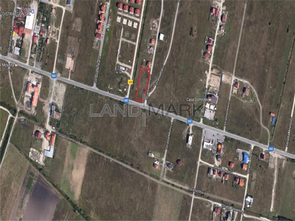 Teren de vanzare in zona BarieraMosnita Noua
