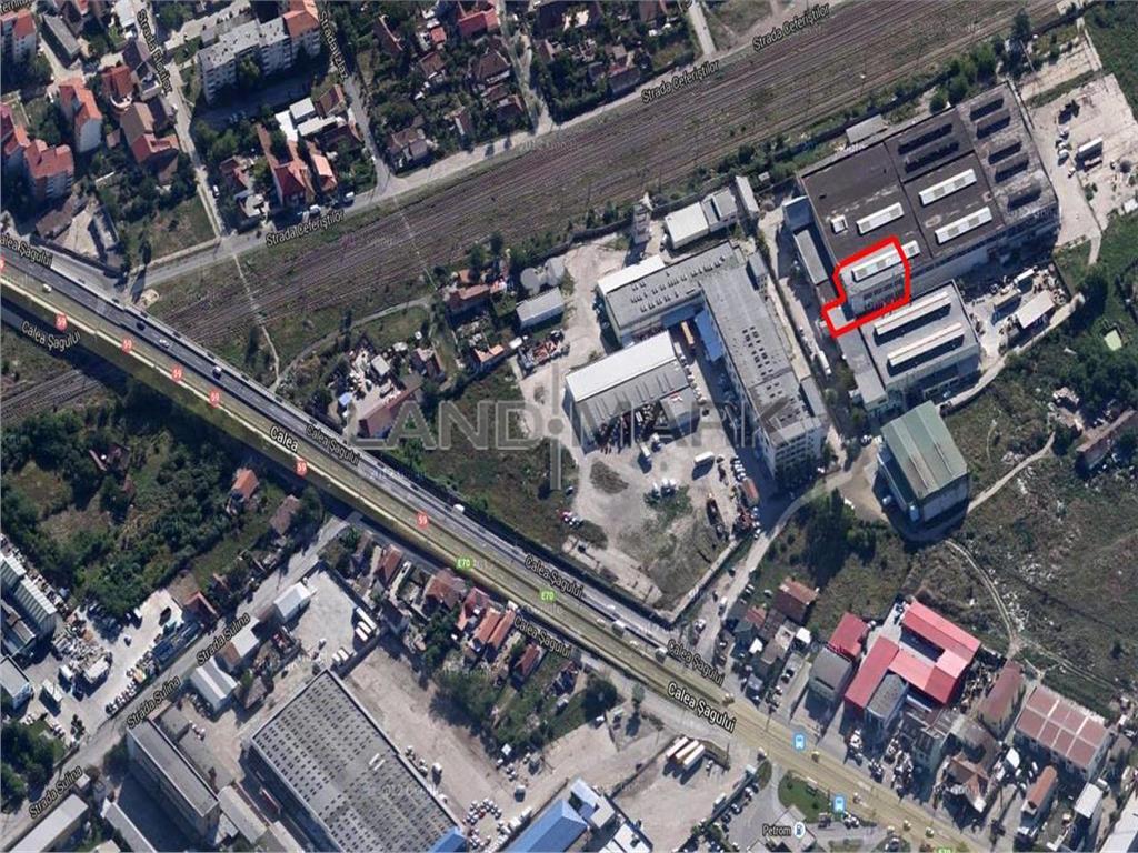 Spatiu industrial de vanzare in zona Sagului