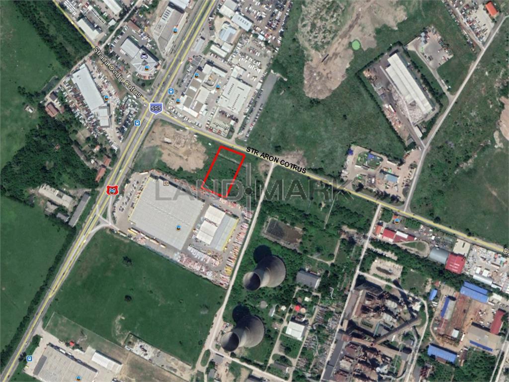 Teren industrial  comercial de vanzare in zona Sagului
