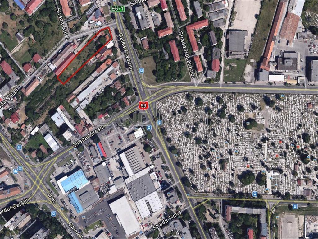 Teren de vanzare in zona Aradului