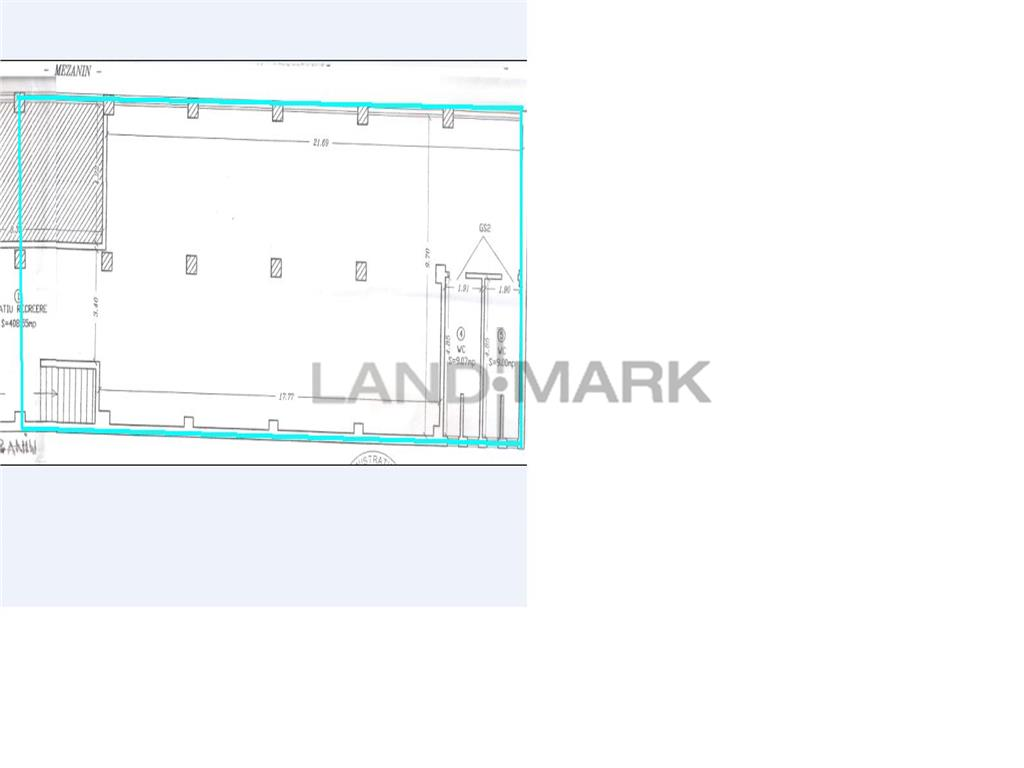 Spatii comerciale 40 mp sau 80 mp, Zona Complex