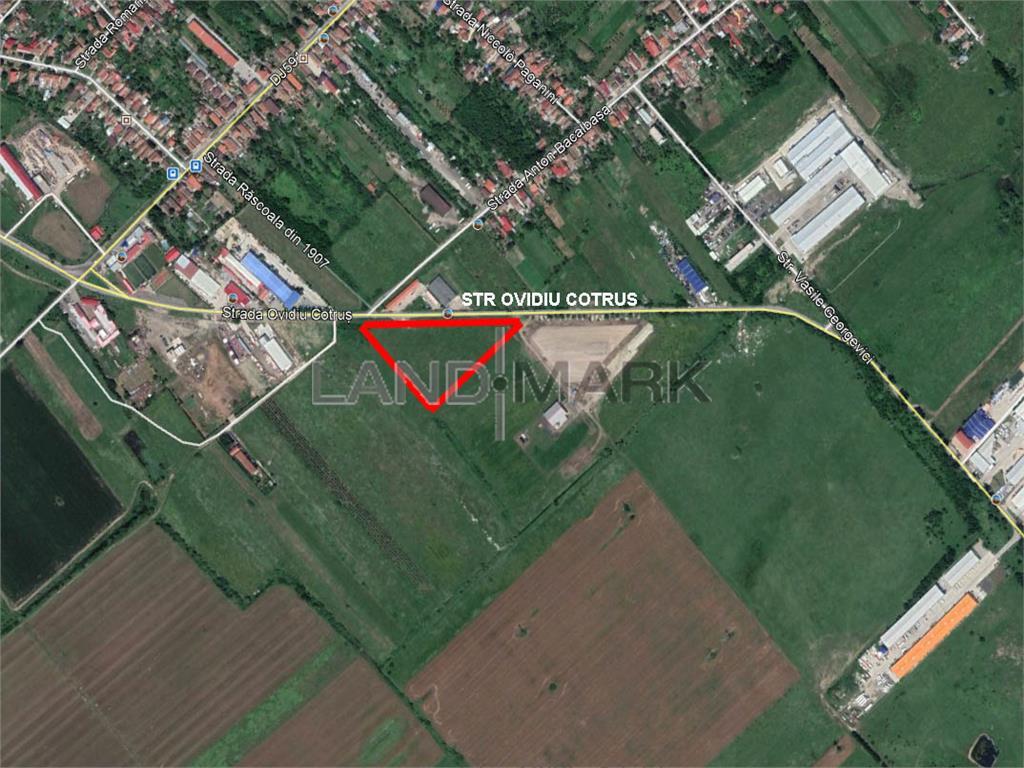 Teren pentru comercial servicii de vanzare in zona Freidorf