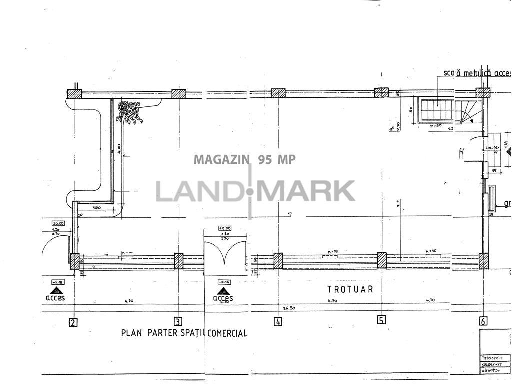 ULTRACENTRAL, Spatiu cu vitrine, 186 mp pe 2 niveluri