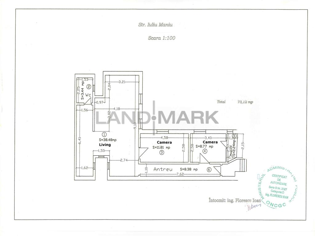 Vand apartament trei camere zona Iosefin