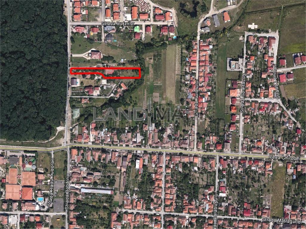 Teren de vanzare in zona Lugojului  Ghiroda