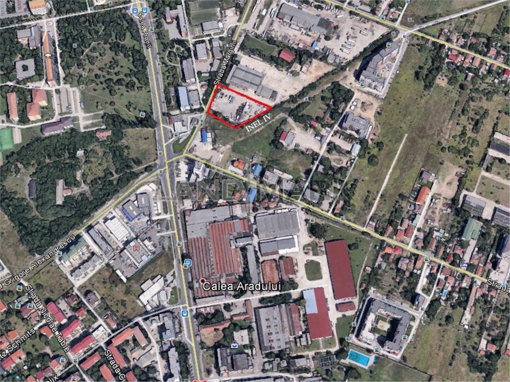 Exclusiv!!! Teren pentru dezvoltare rezidentiala in zona Aradului