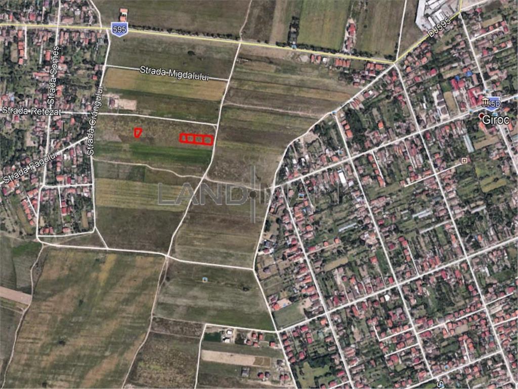 Teren de vanzare in zona Chisoda  Giroc
