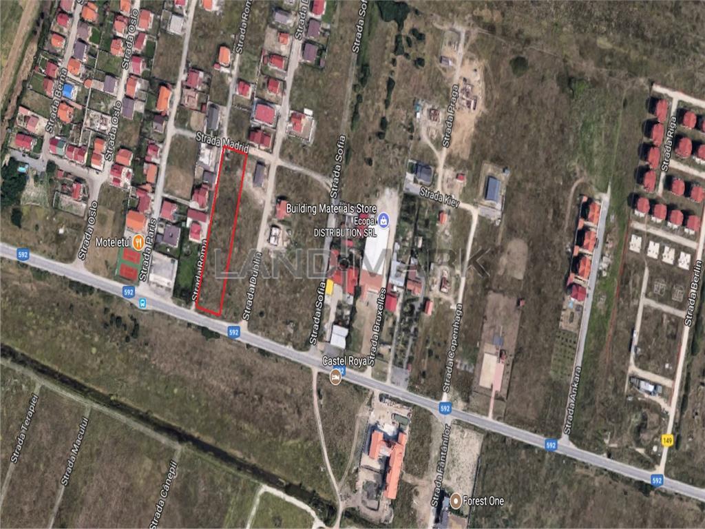 Teren de vanzare intre Timisoara si Mosnita Noua