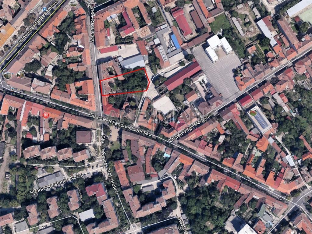Teren 1223 in zona centrala