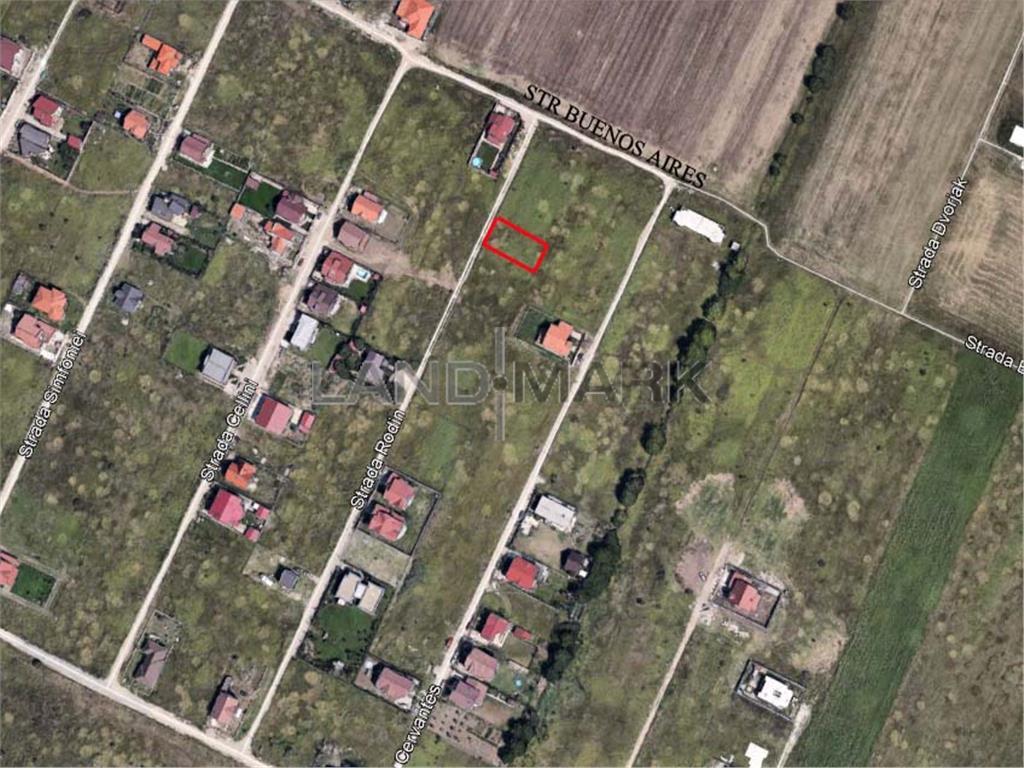 Teren de vanzare in zona Dumbravita Cora