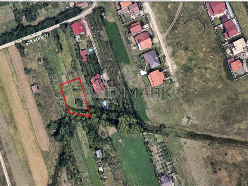 Teren pentru CASA de vanzare in zona Giroc sat