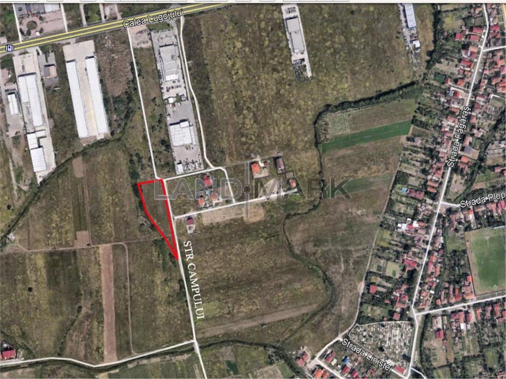 Teren pentru Parcelare de vanzare in zona LugojuluiGhiroda