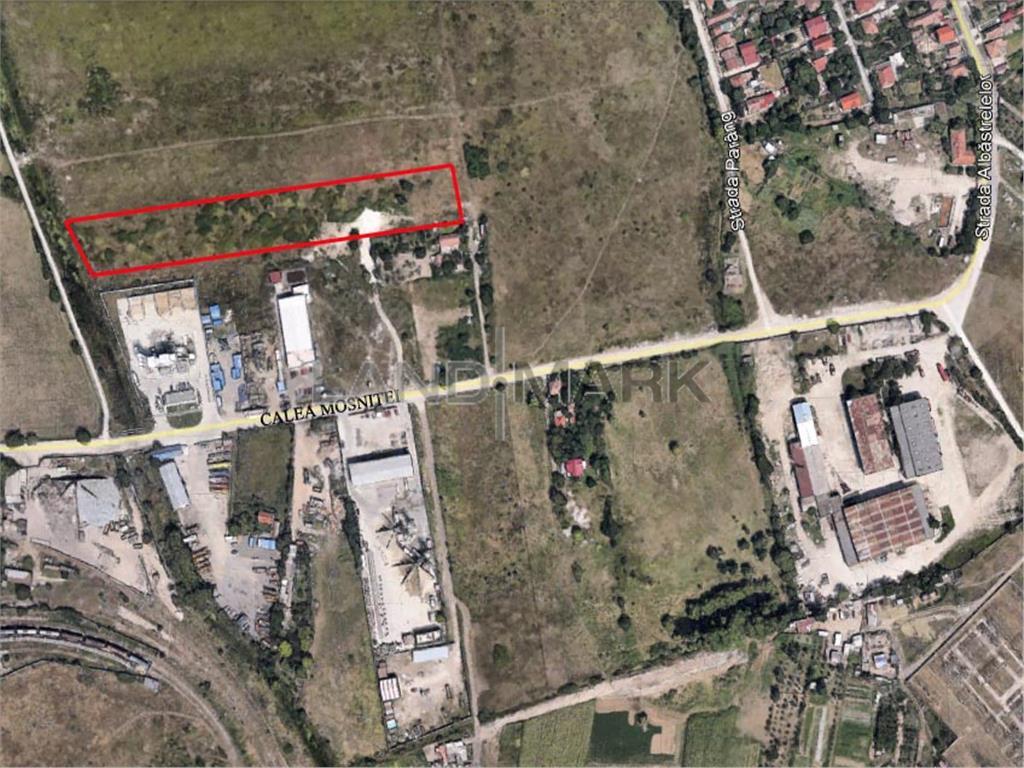 Teren extravilan de vanzare in zona Calea Mosnitei  Holcim