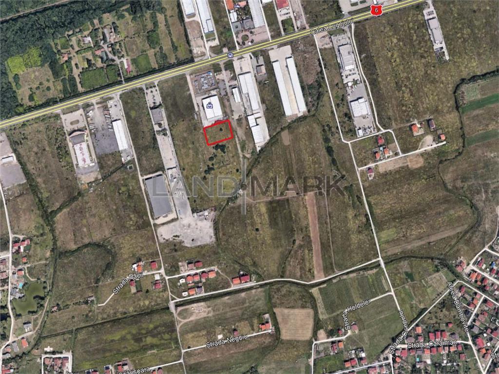 Teren industrial/comercial pe Calea Lugojului