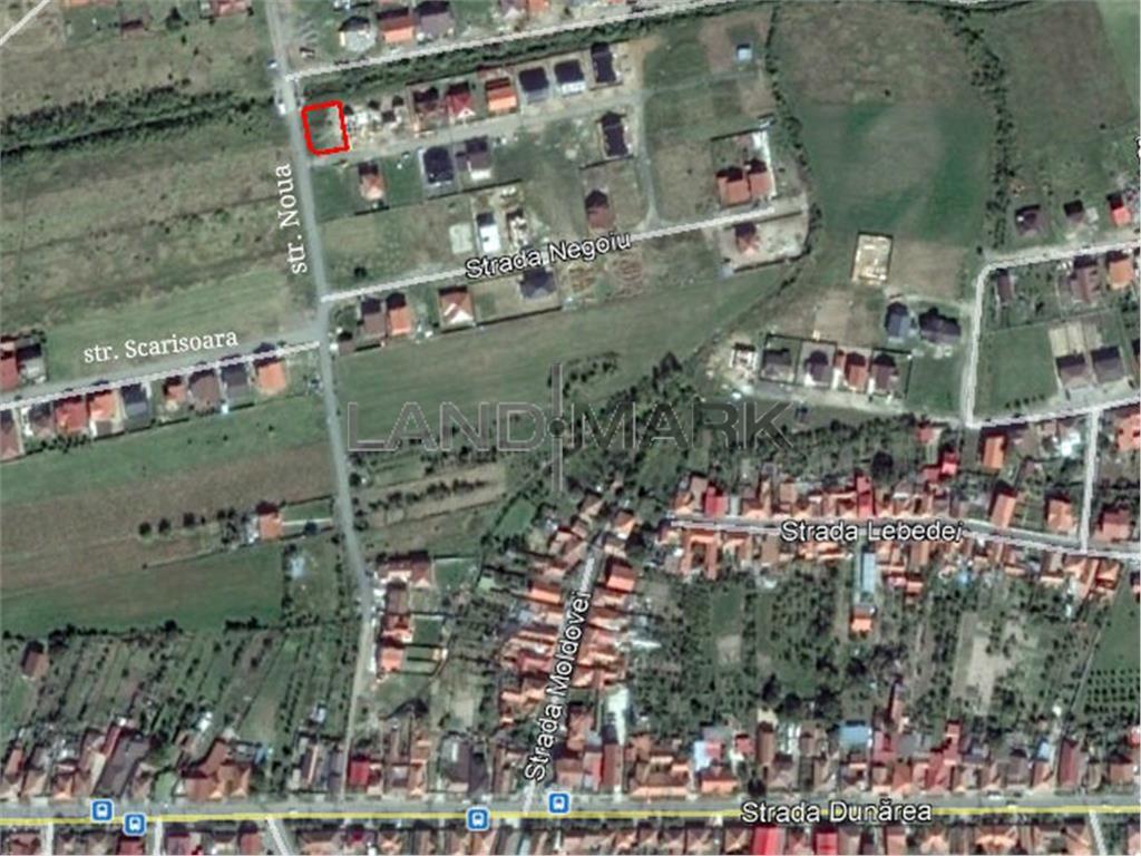 Teren de CASA de vanzare in zona Rezidentiala Ghiroda