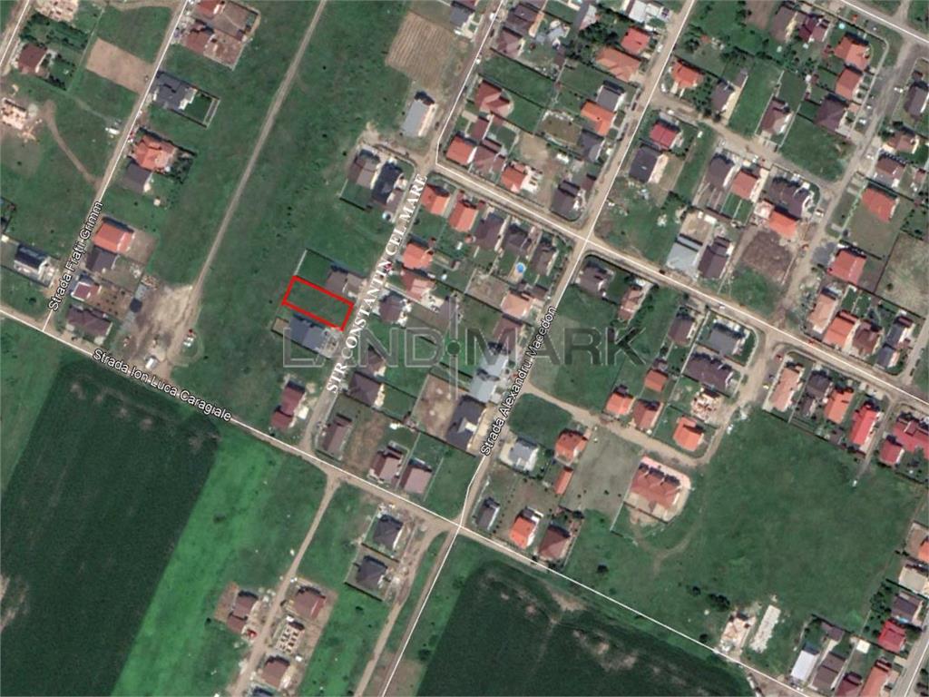 Teren pentru CASA de vanzare in zona Dumbravita Vest
