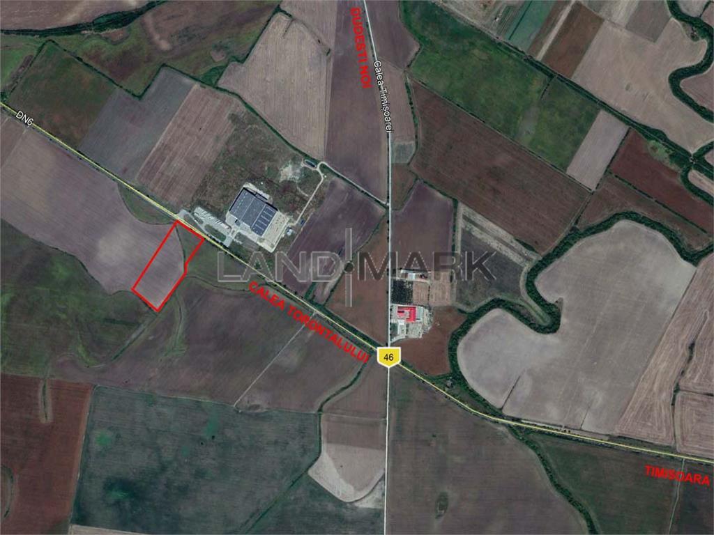 Teren Industrial cu PUZ de vanzare pe Calea Torontalului