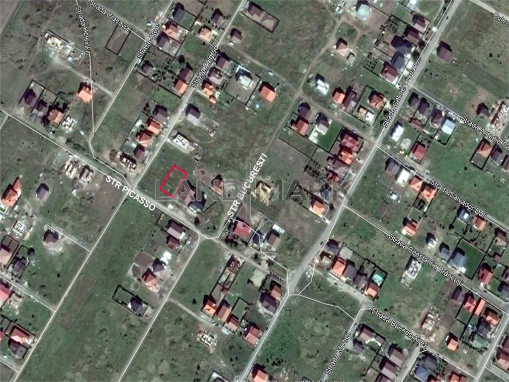 Teren de CASA de vanzare in zona Dumbravita Cora