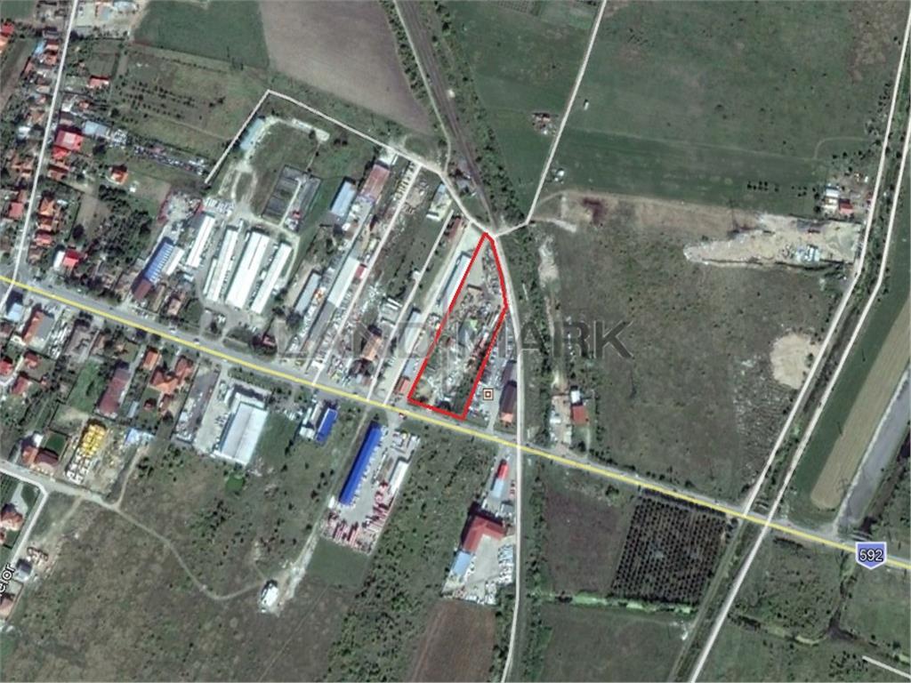 Teren Comercial/Industrial de vanzare pe Calea Buziasului