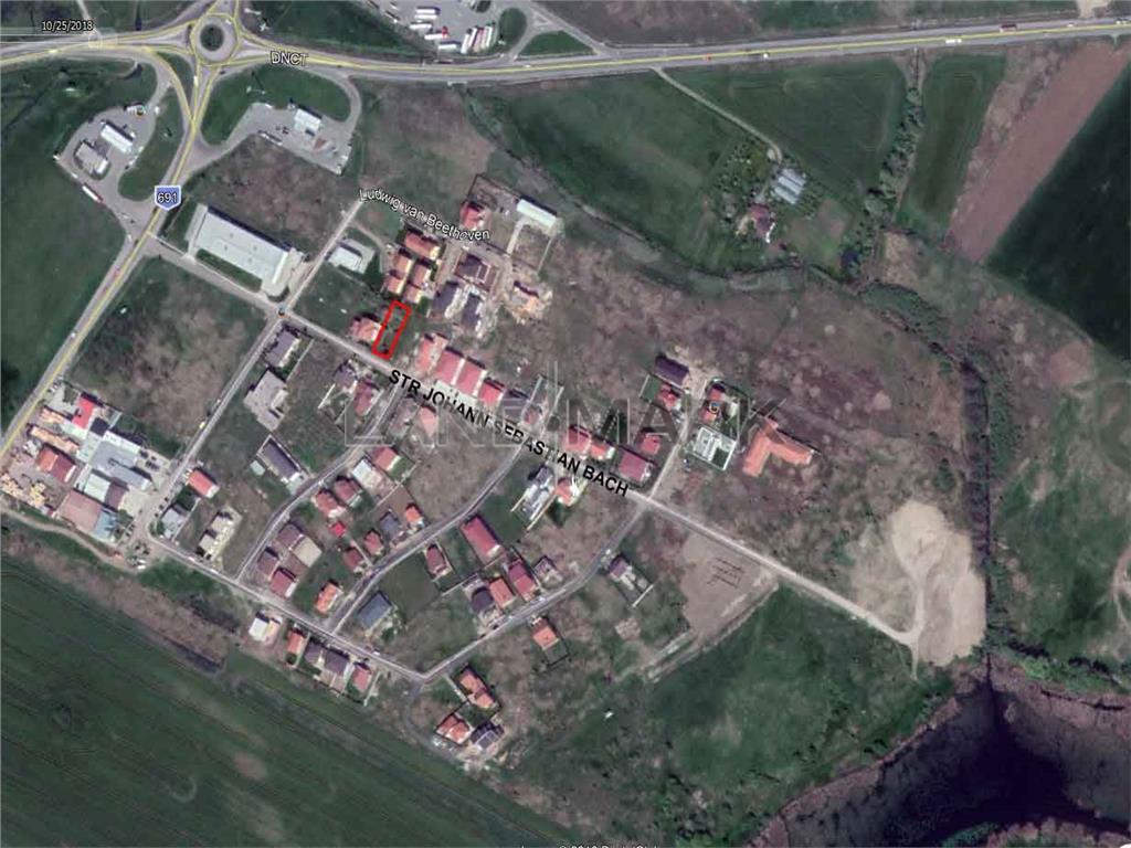 Teren de vanzare in zona Dumbravita Belvedere