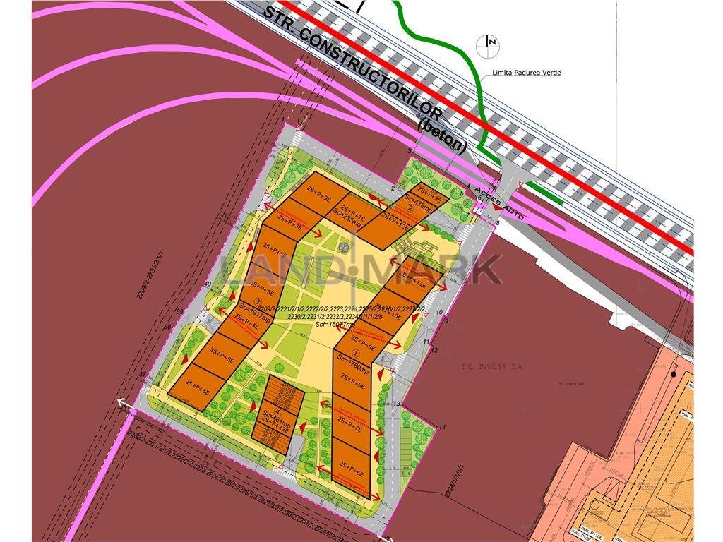 Teren pentru dezvoltare de vanzare in zona Lipovei