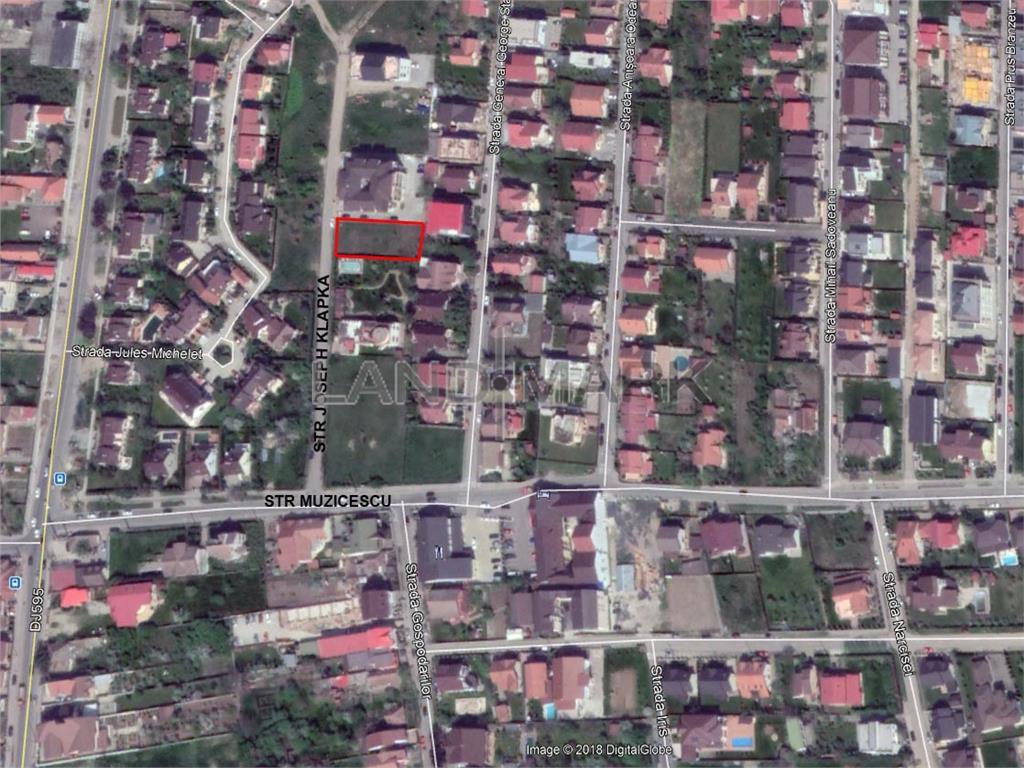 Teren pentru constructie 4 apartamente in zona Girocului  Braytim