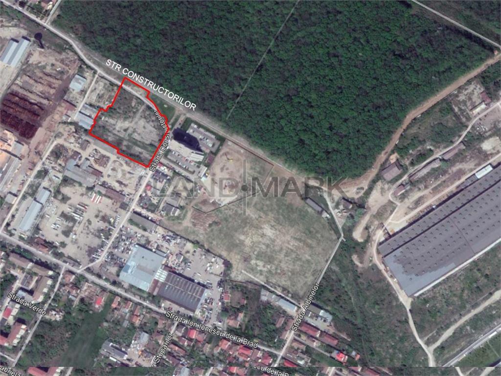 Teren de BLOC cu Autorizatie de Construcite de vanzare in zona Lipovei