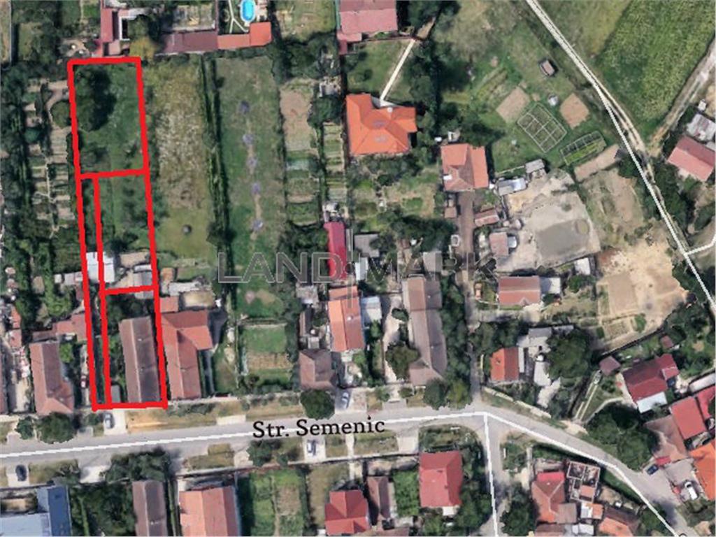 Teren DUPLEX de vanzare in Sat Giroc