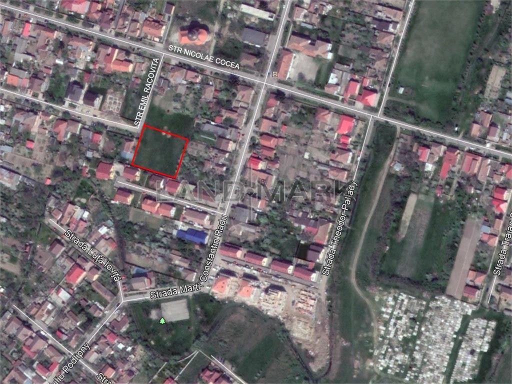 Vand teren pentru dezvoltare in zona Ciarda Rosie
