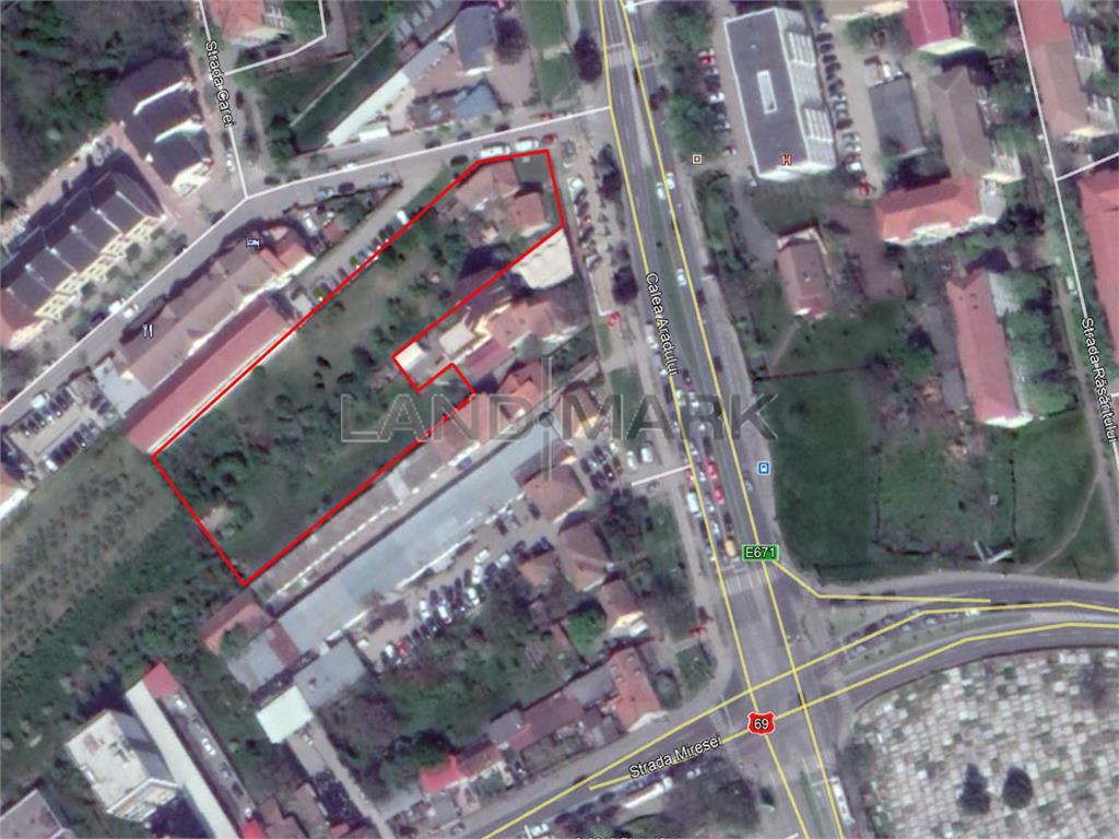Teren de vanzare in zona Aradului  Semicentral