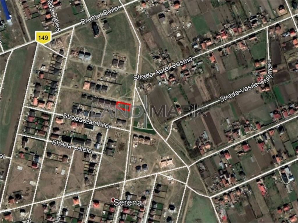 Teren de CASA de vanzare Mosnita, cartier Serena
