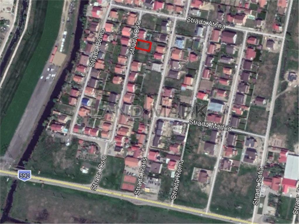 Teren de casa in Mosnita Noua, cartier Europa