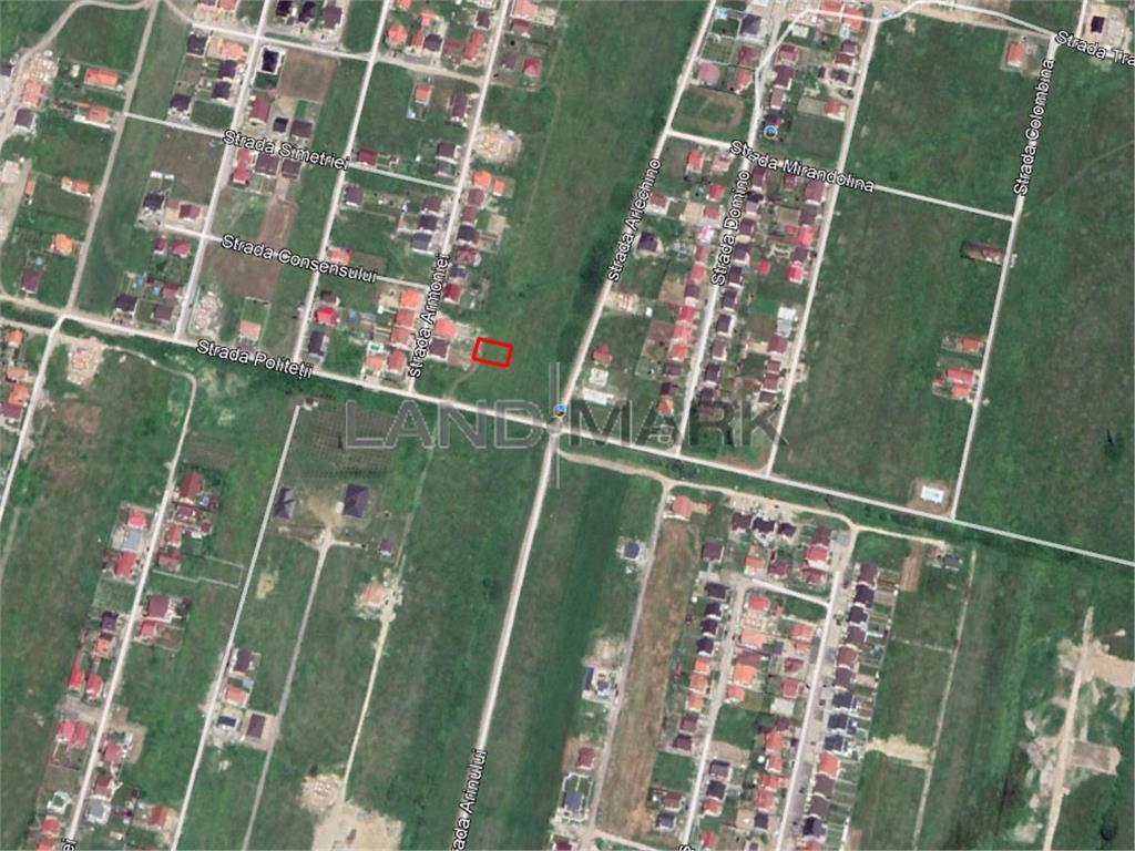 Teren de CASA de vanzare, zona Mosnita Noua