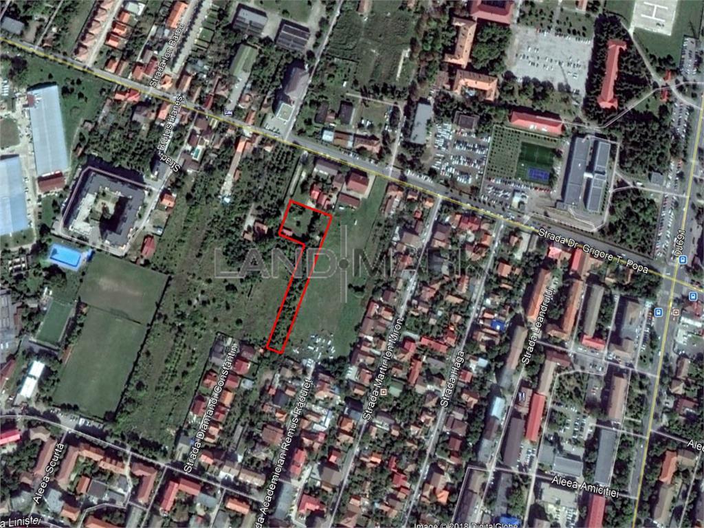 Teren cu A.C. pentru BLOC de vanzare in zona Lipovei