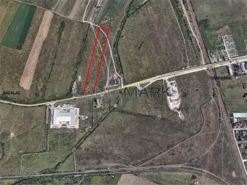 Teren de vanzare in zona Timisoara Sacalaz