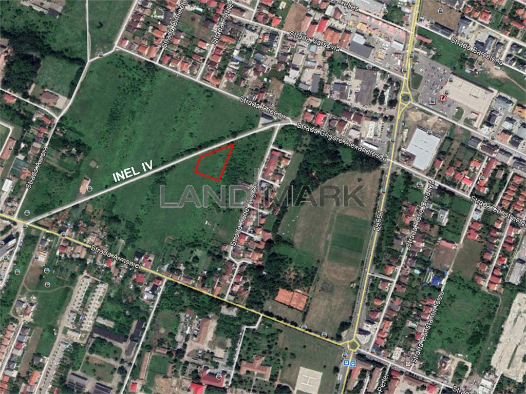Teren de BLOC S+P+5E+M de vanzare in zona Lipovei