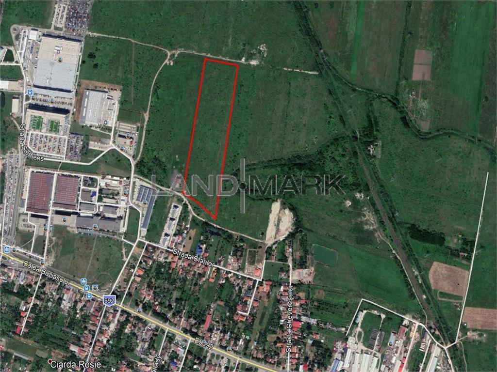 Teren pentru dezvoltare rezidentiala in zona CIARDA