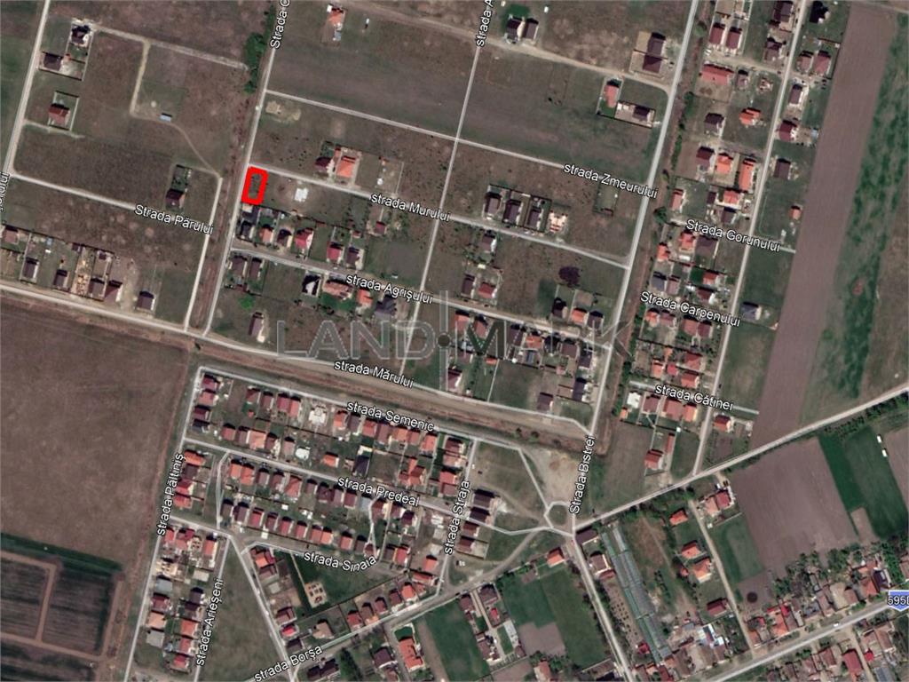 Teren de vanzare in zona Mosnita Veche