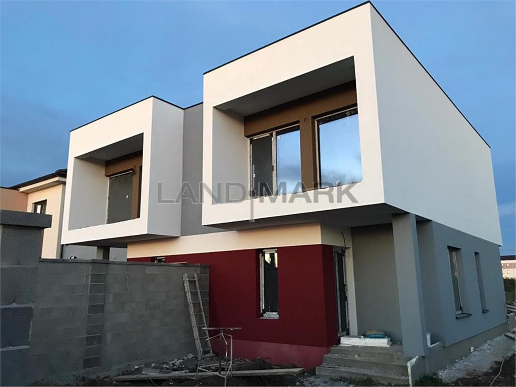 Comision 0% Duplex la alb cu arhitectura moderna zona Cora Dumbravita