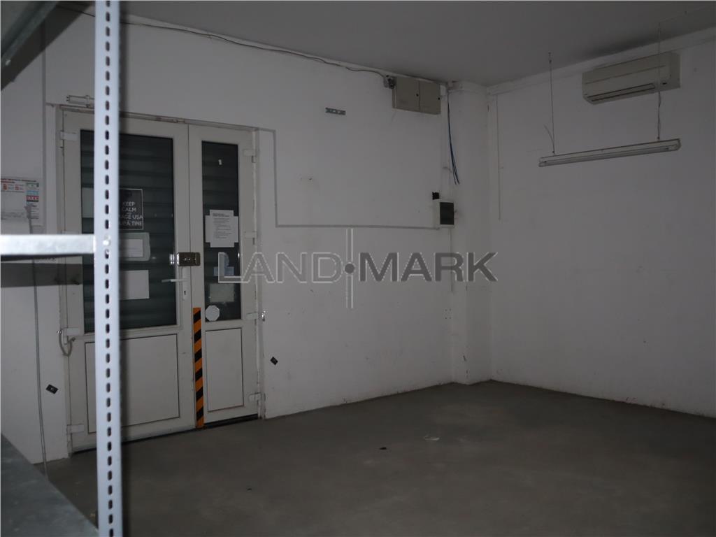 Spatiu comercial, parter, 16 metri vitrina