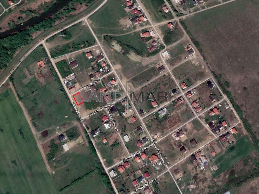 Teren pentru casa de vanzare cu dublu front in Ghiroda Slavik