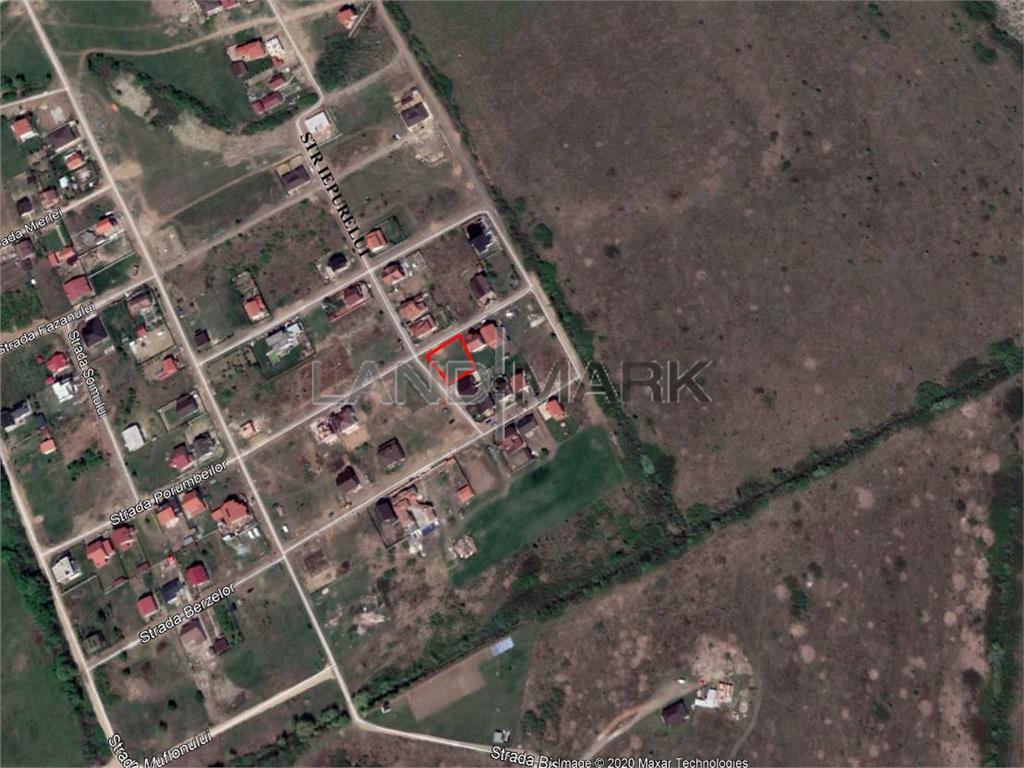 Teren pentru casa de vanzare in zona Ghiroda Slavik