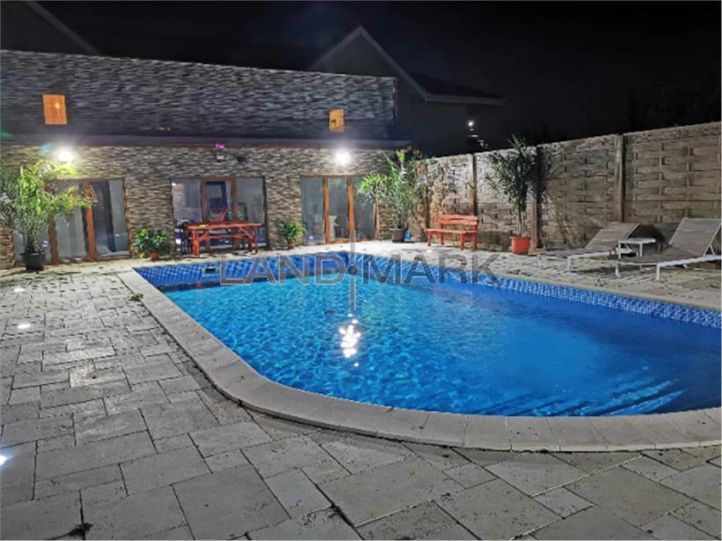 Inchiriez Vila cu piscina in Dumbravita langa padure/lac