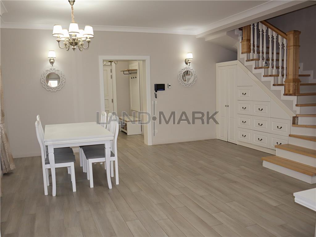 COMISION 0% 1/2 casa duplex premium mobilat bariera Mosnita Noua