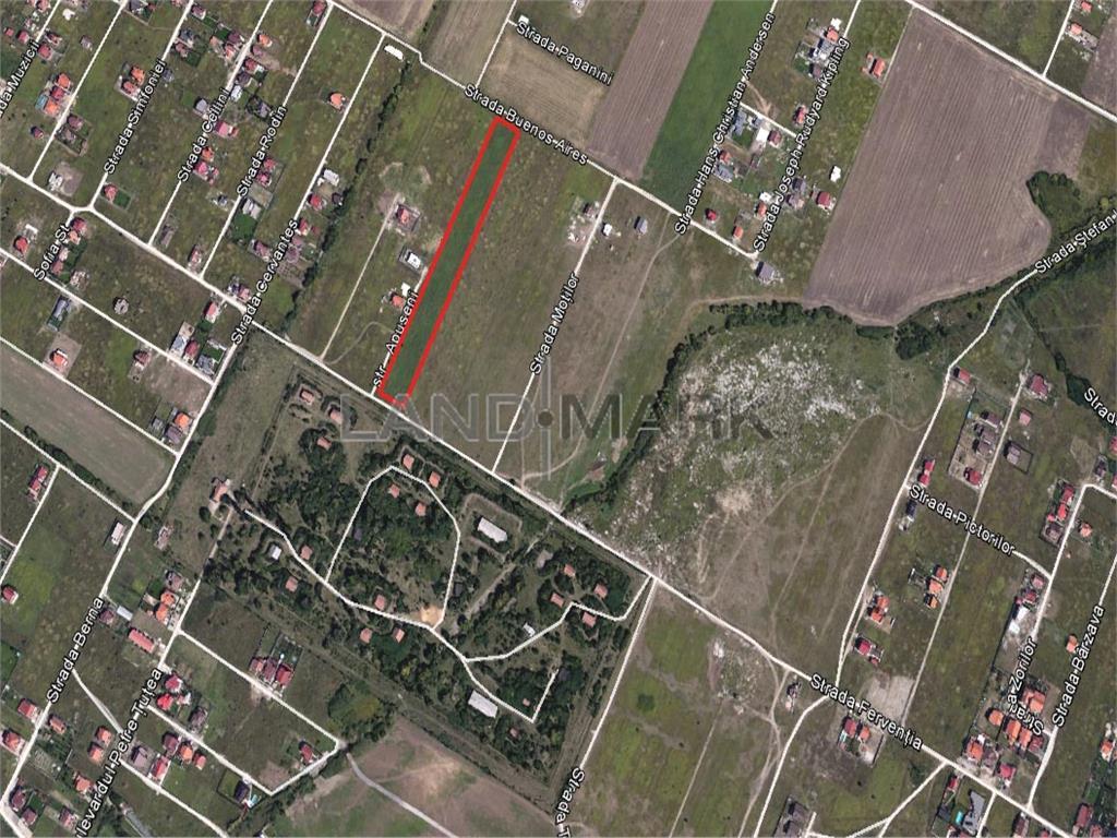 Teren pentru parcelare de vanzare in zona Dumbravita