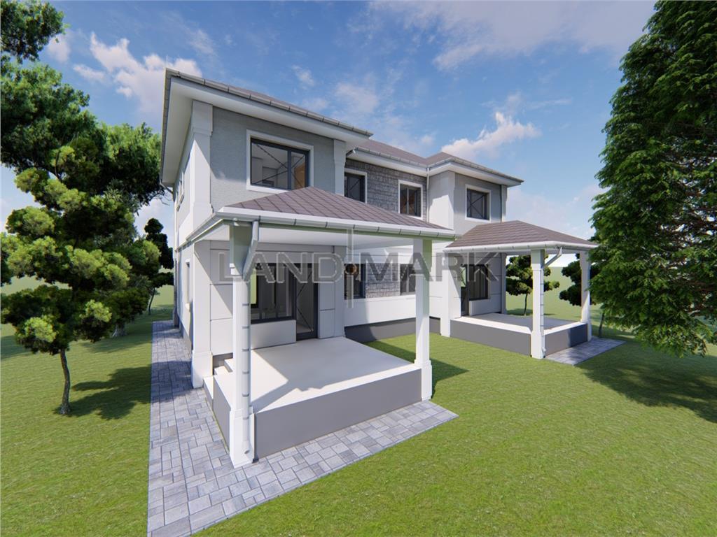 COMISION 0% 1/2 Duplex arhitectura moderna  mediteranean Dumbravita