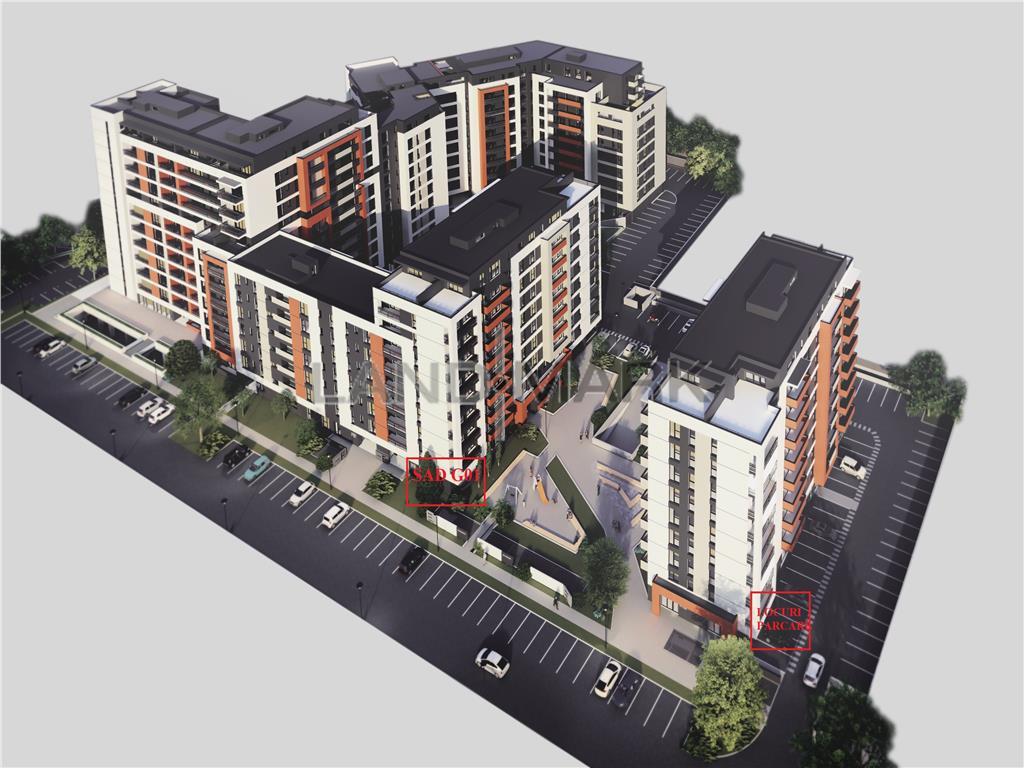 Spatiu Comercial 100 mp utili , bloc nou , Zona Aradului