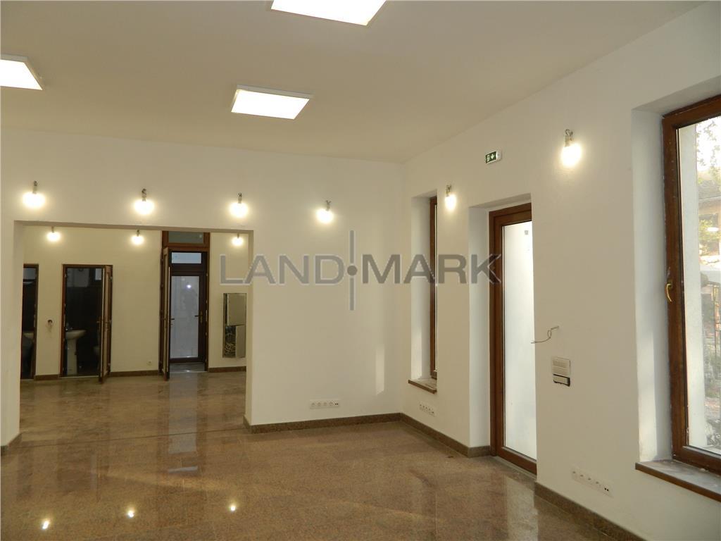 Cladire noua P+E open space, 200 mp utili , curte, Zona Centrala