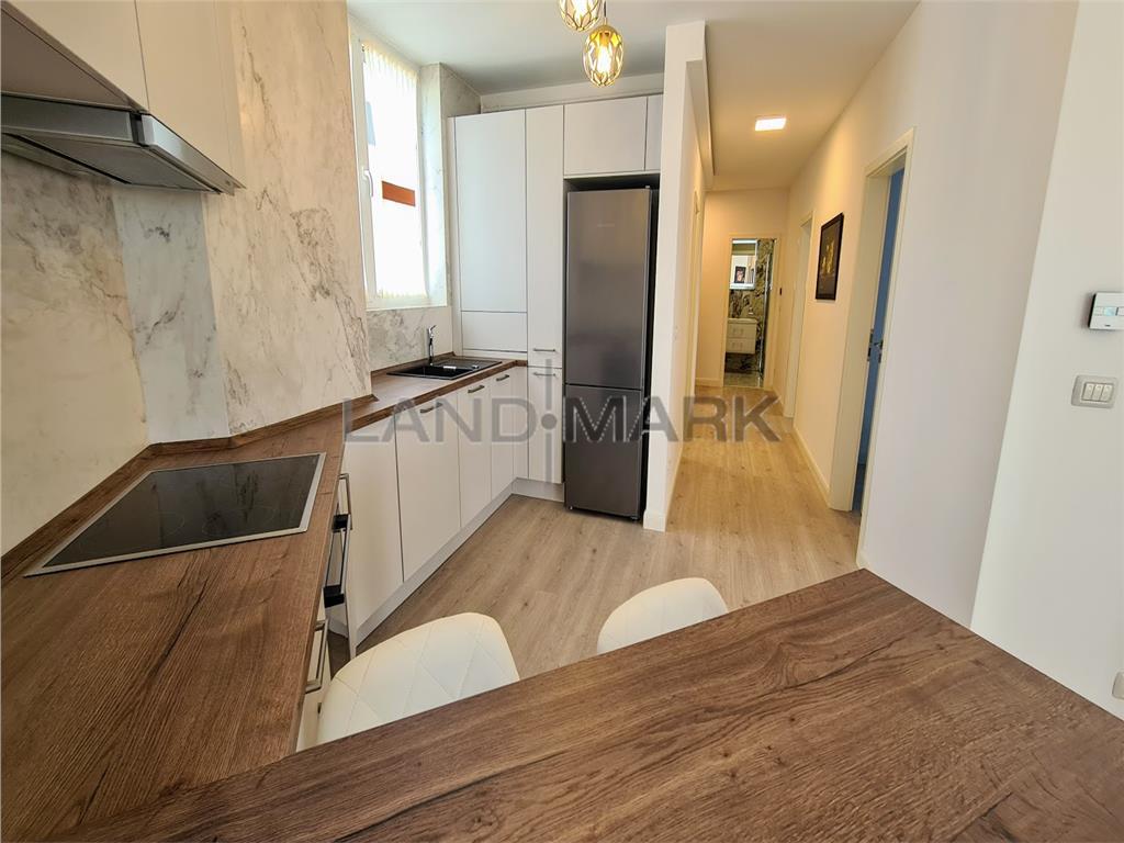 Apartament de lux 3 camere, bloc nou , parcare subterana, Rebreanu