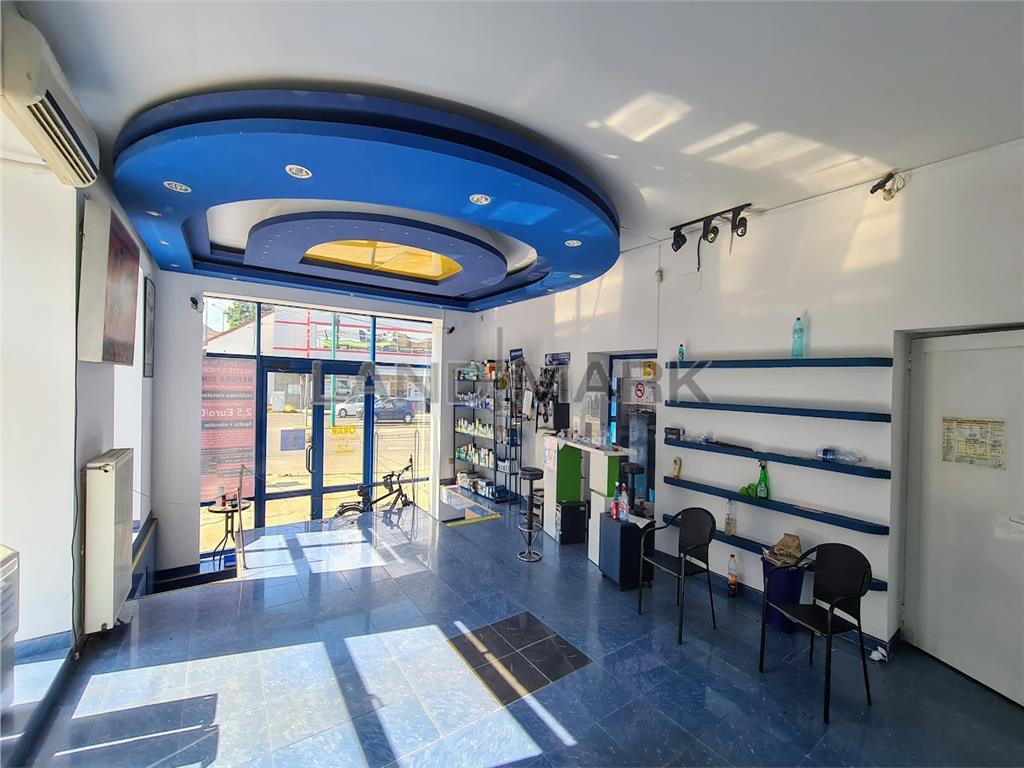 Spatiu comercial / show room , 150 mp intersectie  circulata